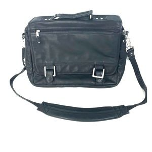 Canyon Outback Leather Messenger Briefcase
